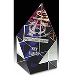 Prism Rainbow Glass Award