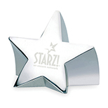 Star Bright Paperweight Award