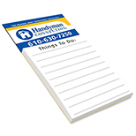 Imprinted Biz Card Magnet w/Pad