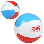 Red, White and Blue Beach Ball