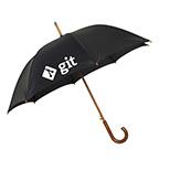 Umbrella with Wood Handle