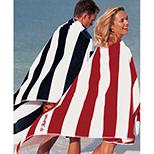 Oversized Cabana Stripe Beach Towel