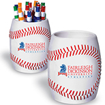 Baseball-Theme Cooler Can Holder