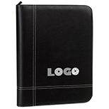 Zippered Ring Binder Padfolio / Calculator