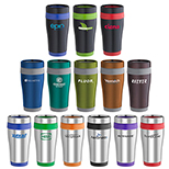 Color Ringer Stainless Steel Tumbler