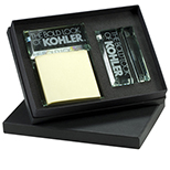 Glass Note Holder & Card Holder Set
