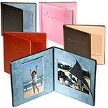 Magnetic Leather Folding Photo Frame