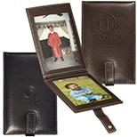Versatile Leather Photo Frame