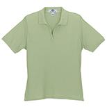 Women's Solid Cotton Baby Pique Polo