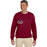 Crew Neck Sweatshirt - Colors by Gildan