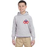 Youth Hooded Sweatshirt by Gildan