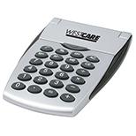 Pocket / Desk Calculator with Flip-up Display