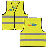 All Purpose Yellow Safety  Vest