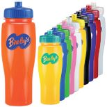 Opaque Bottle with Push/Pull Lid