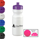 24 oz. Sport Bottle with Push-Pull Lid