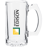 12.5 oz. Glass Mug