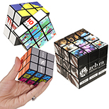 Rubik's 9-Panel Full Color Cube