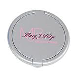 Round Plastic Single Mirror Compact