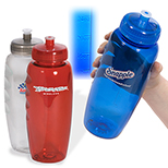 PolyClear Gripper Sports Bottle