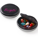 Corporate Colors Jelly Beans in a Snap Top Candy Case