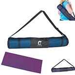 Yoga Mat with Nylon/Mesh Carry Case