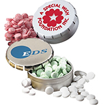 Round Pop Top Mint Tins