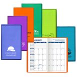 Monthly Pocket Planner -Translucent Vinyl Cover
