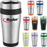 16oz Stainless Steel Ringer Tumbler