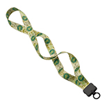Recycled Dye-Sublimated Lanyard