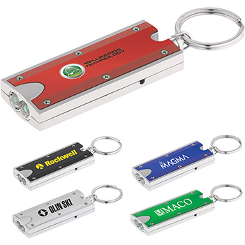 Dual LED Key Chain Flashlight