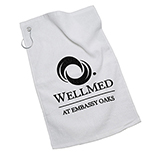 Golf Towel with Ring and Grommet