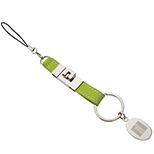Leatherette Detachable Key Tag