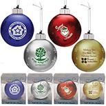 Light-Up Glass Ornament