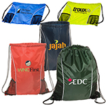 Sports Enthusiast Drawstring Backpack