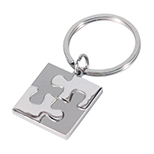 Puzzler Metal Key Tag