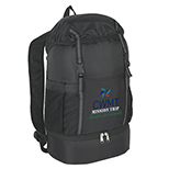 Nylon Backpack with Cooler Bottom