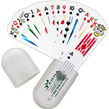 Deck of Cards in Protective Carrying Case