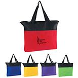Non-Woven Zippered Tote Bag II