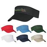 100% Cotton Twill Visor