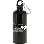 22oz - Jumbo Aluminum Bottle with Carabiner