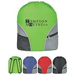 Drawstring Backpack with Adjustable Shoulder Straps