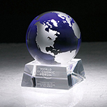Silver and Blue Globe Award