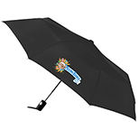 Totes Auto Open Folding Umbrella, 42
