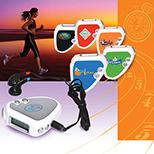 Fitness Pedometer/FM Radio