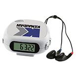 Pedometer/FM Scanner Radio