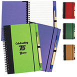 EcoSmart Contrast Paperboard Journal & Pen Set
