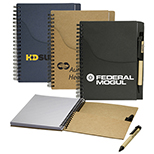 EcoSmart Jotter with Pockets and Pen