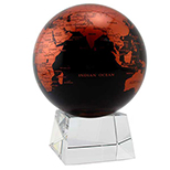 Mova Globe I, Copper/Black or Silver