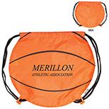 210d Nylong Basketball Drawstring Backpack