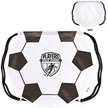 210D Nylon Soccer Drawstring Backpack